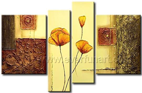 Floral Canvas Wall Art.Wall Hangings For Living Room Living Room ...